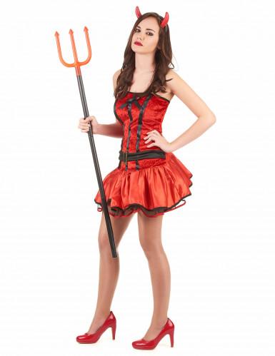 Rood duivelin kostuum voor vrouwen-1