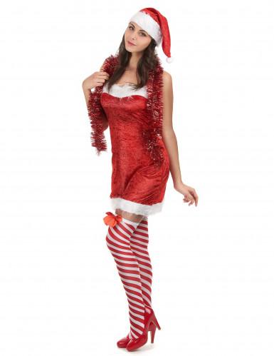 Sexy kerstvrouw pak voor dames-1