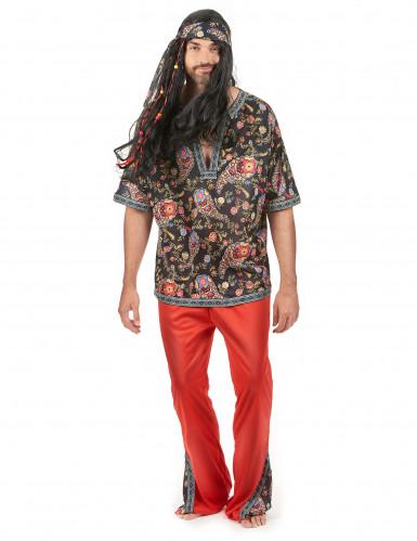 Psychedelisch sixties hippie pak voor heren
