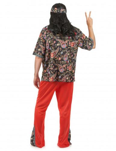 Psychedelisch sixties hippie pak voor heren-2