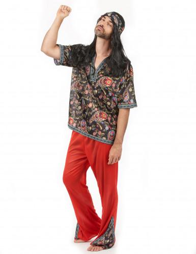 Psychedelisch sixties hippie pak voor heren-1