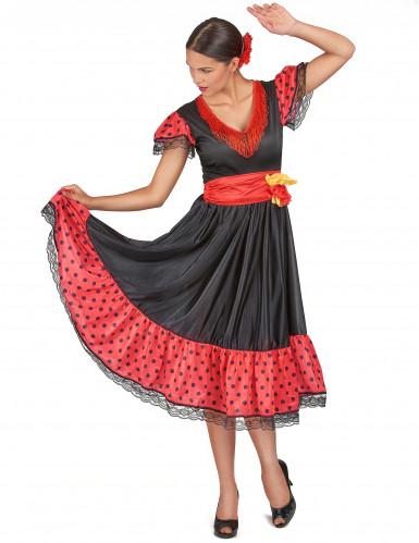Flamenco danseres outfit voor vrouwen