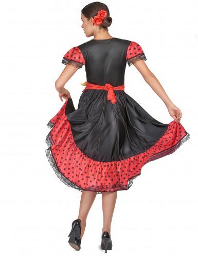 Flamenco danseres outfit voor vrouwen-2