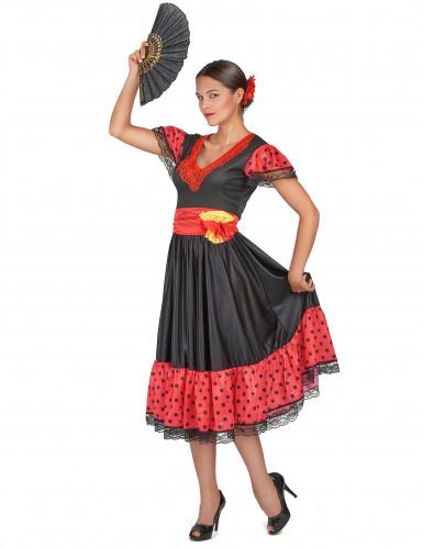 Flamenco danseres outfit voor vrouwen-1
