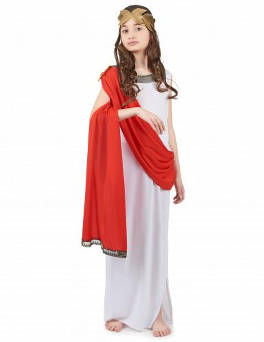 Romeinse godin kostuum voor meisjes