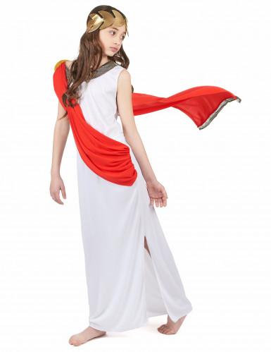 Romeinse godin kostuum voor meisjes -1