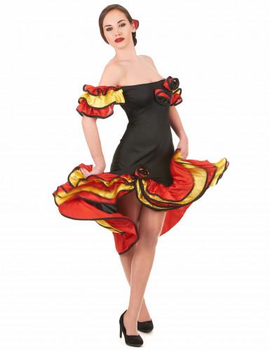 Flamenco danseressen kostuums Moeder en Dochter-1