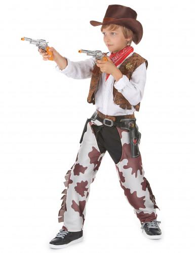 Cowboy kostuum Vader en Zoon-2