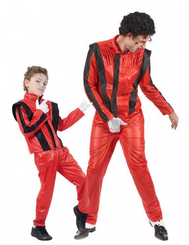 King Of Pop Michael Jackson kostuums vader en zoon