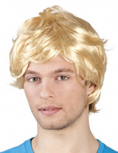 Blonde retropruik voor mannen