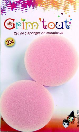 Set schmink sponsjes 1.5 cm