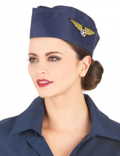Stewardess hoedje-1