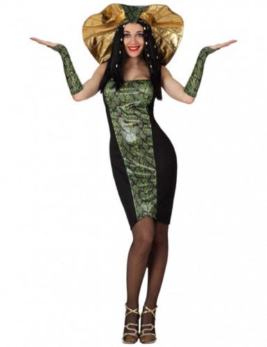 Slangen kostuum voor vrouwen