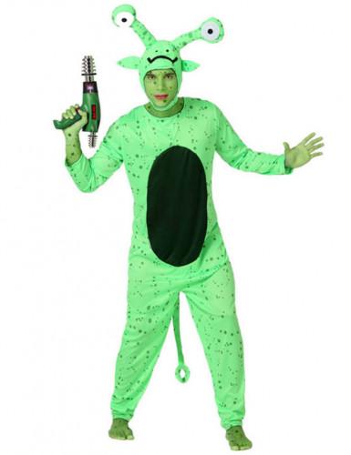 Groen Alien pak voor heren