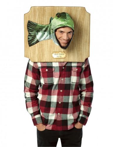 Humoristisch vis trofee kostuum voor volwassenen