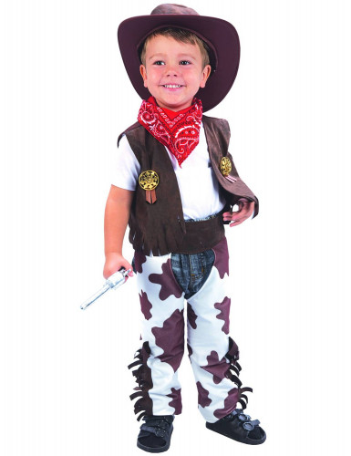 Luxe cowboy kostuum voor kinderen