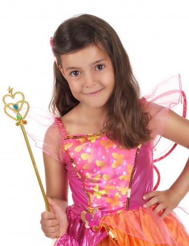 Goudkleurige prinsessen toverstaf voor meisjes-1