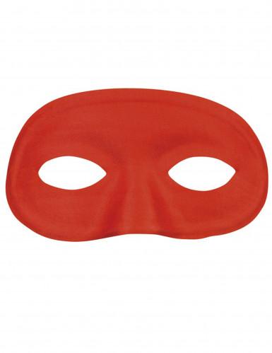 Rode half masker voor volwassenen
