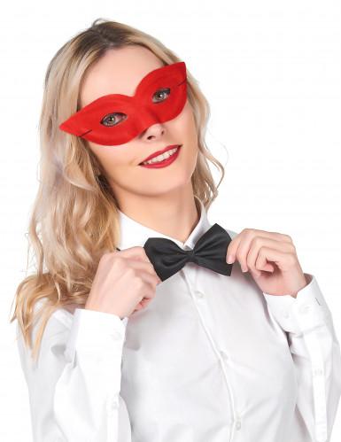 Rode Venetiaans masker voor volwassenen