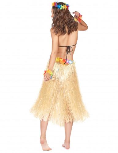Glanzende Hawaiiaanse rok voor volwassenen-1