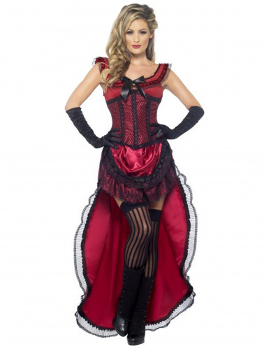 Sexy cabaretdanseres outfit voor dames