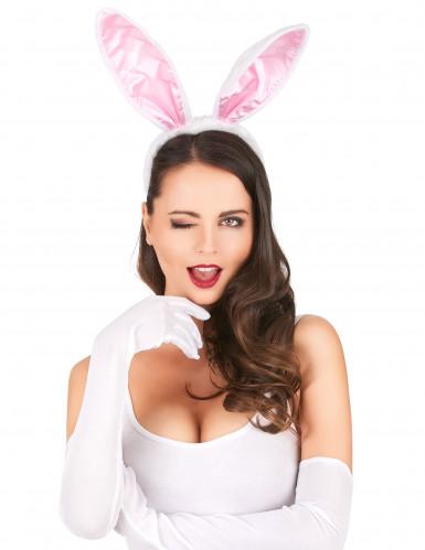 Haarband met konijnen oren