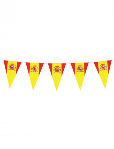 Spaanse vlaggenlijn versiering