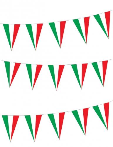 Italiaanse vlag slingers