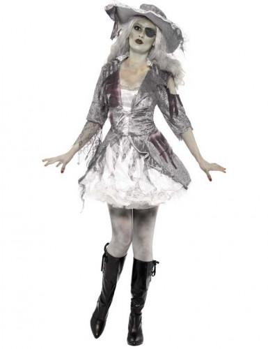 Spookpiraat kostuum voor vrouwen