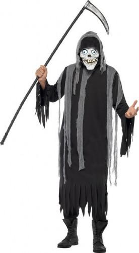 Halloween Kostuum Magere Hein.Magere Hein Skelet Kostuum Voor Volwassenen Halloween Pak