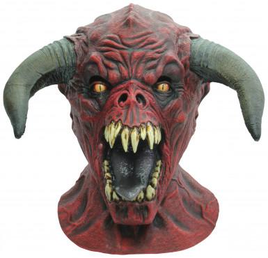 Rood  stier masker voor volwassenen Halloween masker