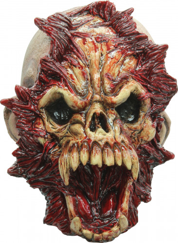 Angstaanjagend monster masker voor Halloween