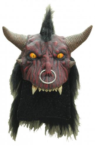 Demon masker voor volwassenen Halloween accessoire