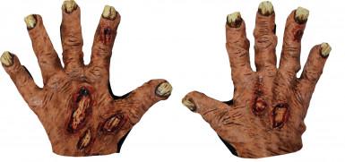 Halloween Zombie handschoenen volwassenen