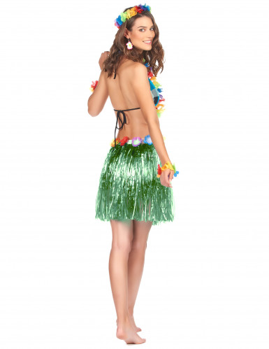 Groen hawaiiaanse rok voor volwassenen -1