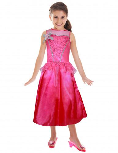 Roze prinsessen verkleed pak van Barbie™ voor meisjes