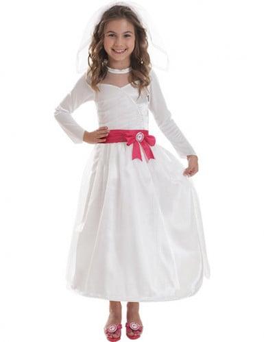 Barbie™ bruidskostuum voor meisjes