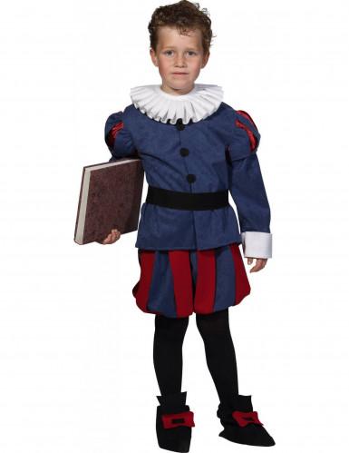 Renaissance dichter kostuum voor jongens