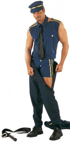 Sexy politie Stripteaser voor heren-1