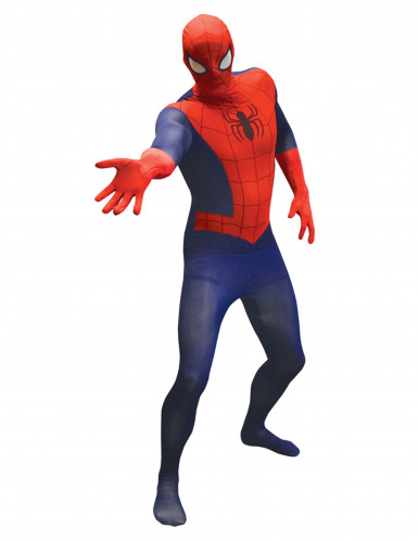 Spiderman™ second skin outfit voor volwassenen