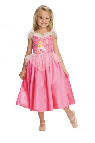 Omkeerbaar Belle™ en Aurora™ kostuum voor meisjes-1