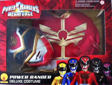 Rode Power Rangers Megaforce™ kostuum voor jongens-1