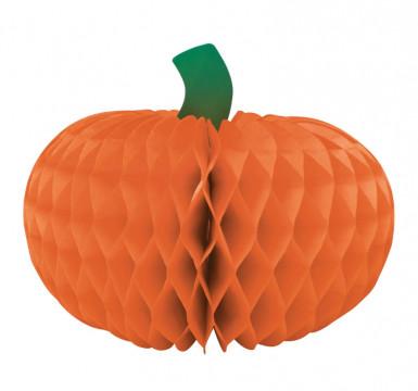 Papieren pompoen decoratie Halloween