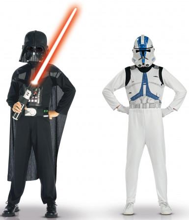 Darth Vader en Clone trooper Star Wars™ pak voor kinderen
