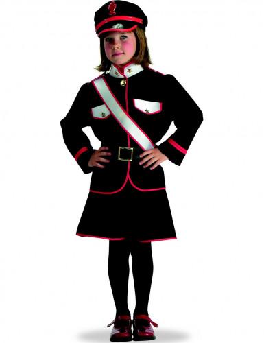 Italiaans politie agente kostuum voor meisjes