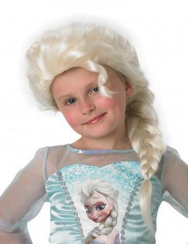 Elsa Frozen™ pruik voor meisjes