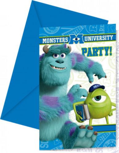 Monsters University™ uitnodigingen