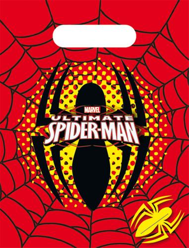 """Set van Spidermanâ""""¢ feestzakjes"""