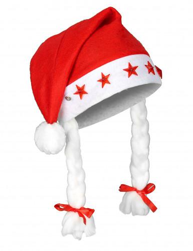 Lichtgevende kerst muts voor volwassenen