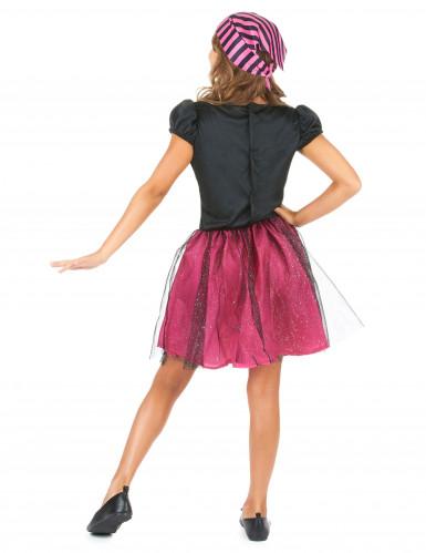 Roze piratenkostuum voor meisjes-2